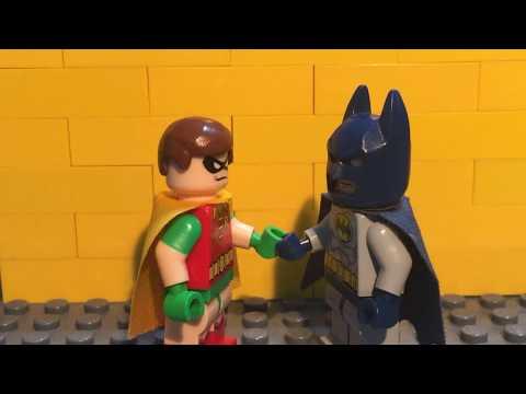 The Evolution Of Batman In Film (Brickfilm)