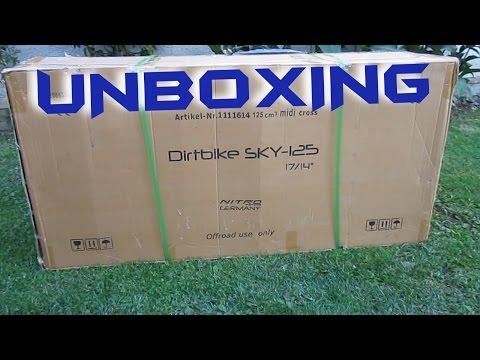 "Dirt Bike SKY 17""/14"" 125ccm (Nitro Motors Germany) | Unboxing & Assembly"