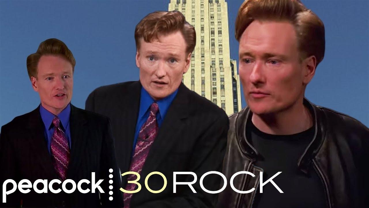 30 Rock - Every Appearance Of Conan On 30 Rock (Best Of Conan O ...