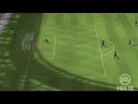 Fifa 10 - Screamer by Theo Walcott! Arsenal 2 - 0 Tottenham.