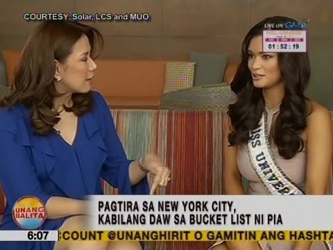 One-onone interview with Miss Universe 2015 Pia Wurtzbach