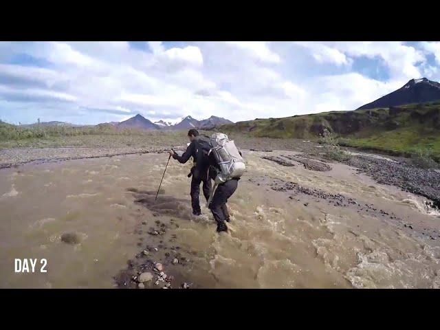 Goat Trail - Skolai Pass to Wolverine (Wrangell-St. Elias National Park, Alaska) - Part 1