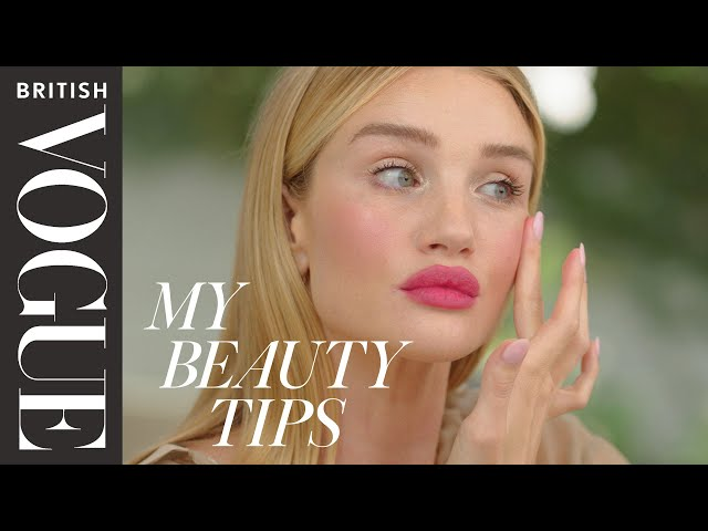 Rosie Huntington-Whiteley's Bold Lip Tutorial | British Vogue