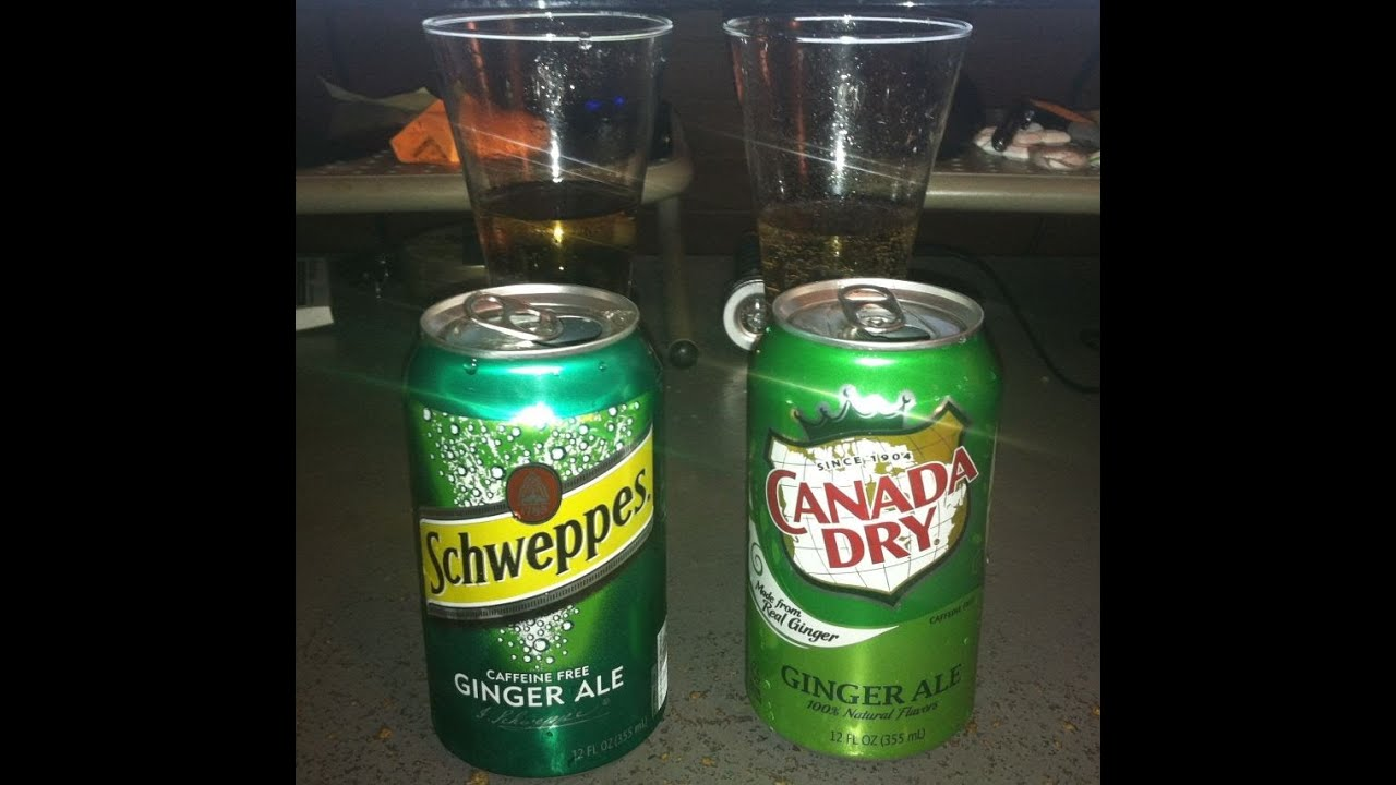 Canada Dry VS Schweppes (Ginger Ale) Battle Review