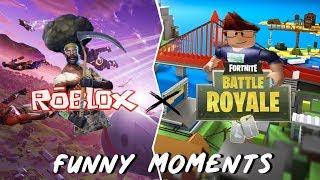 FUNNY MOMENTS: Roblox x Fornite ep 1