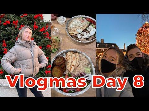 Vlogmas day 8: holiday season in Princeton, New Jersey!