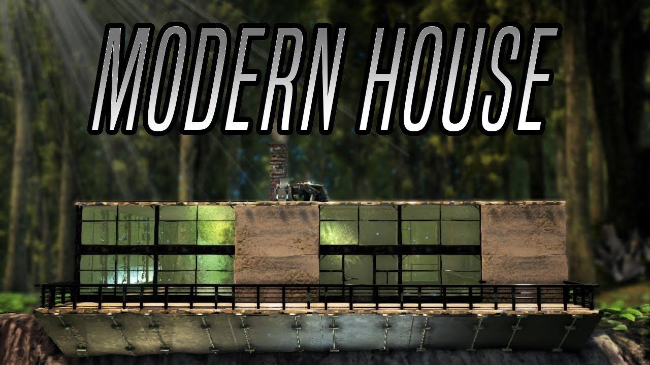Ark modern house build guide ark survival evolved ps4 for Modern house ark