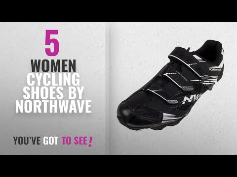 Top 5 Northwave Women Cycling Shoes [2018]: Northwave Scorpius 2 Cycling Shoe 2016 (Black/White, 46)