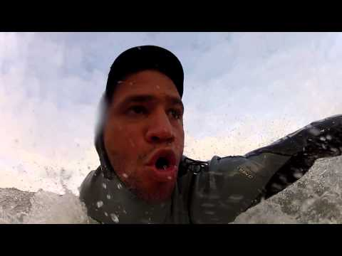 GOPRO HD HERO2 - Victor Rosario defying the weather