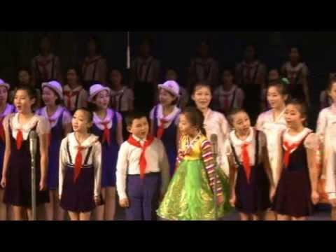 Art Performance Given by Art Group Members of Pyongyang Schoolchildren's Palace