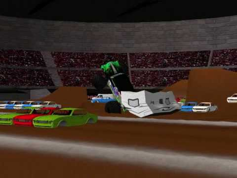 Rigs of Rods Monster Jam: Grave Digger Intro video