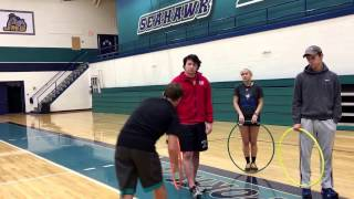 Sharks and Swimmers - Instant Activity- basketball skills - 3-12 grades Physical Education