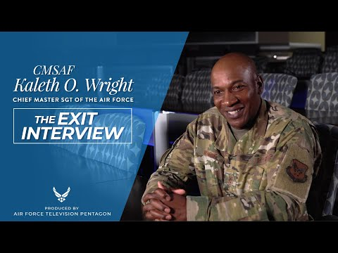 CMSAF18 Kaleth O. Wright - The Exit Interview