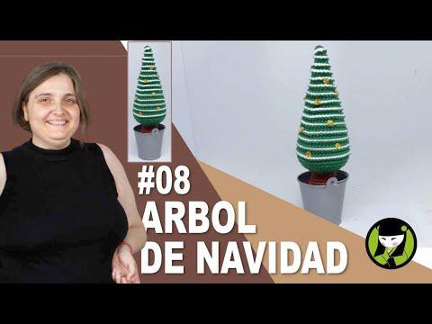 ARBOL DE NAVIDAD AMIGURUMI 08 FINAL abeto navideño tejido a crochet