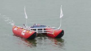 Echodrone: the autonomous depth-sounding boat