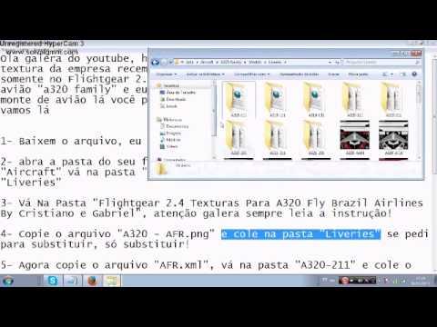 Flightgear 2 4 Mostrando A Baixar E Instalar Texturas Tutorial