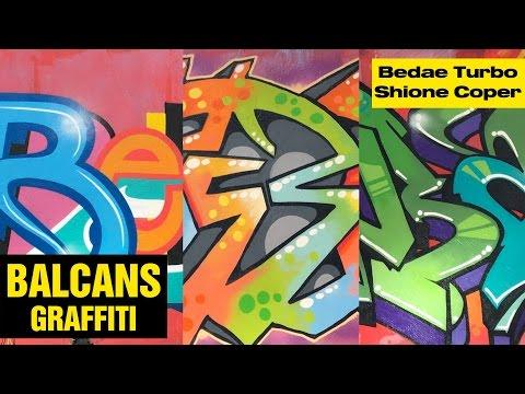 Bedae, Turbo, Shione & Coper – Balcans magazine graffiti /// 2016