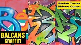 Bedae, Turbo, Shione & Coper - Balcans magazine graffiti /// 2016