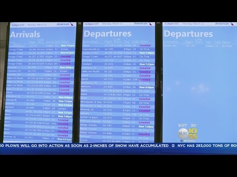 Thousands Of Flights Cancelled