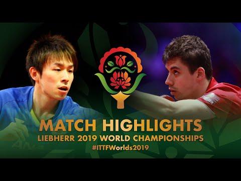 Koki Niwa vs Jakub Dyjas | 2019 World Championships Highlights (R32)