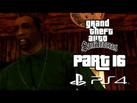 Grand Theft Auto San Andreas PS4 Gameplay Walkthrough Part 16 - MADE IN HEAVEN