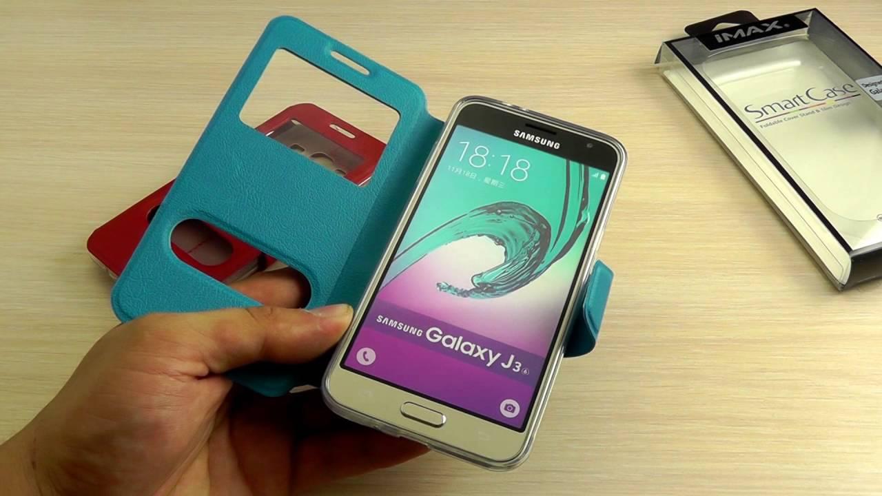 ОБЗОР: Шикарный Кожаный Чехол-Книжка для Samsung Galaxy J1 mini .