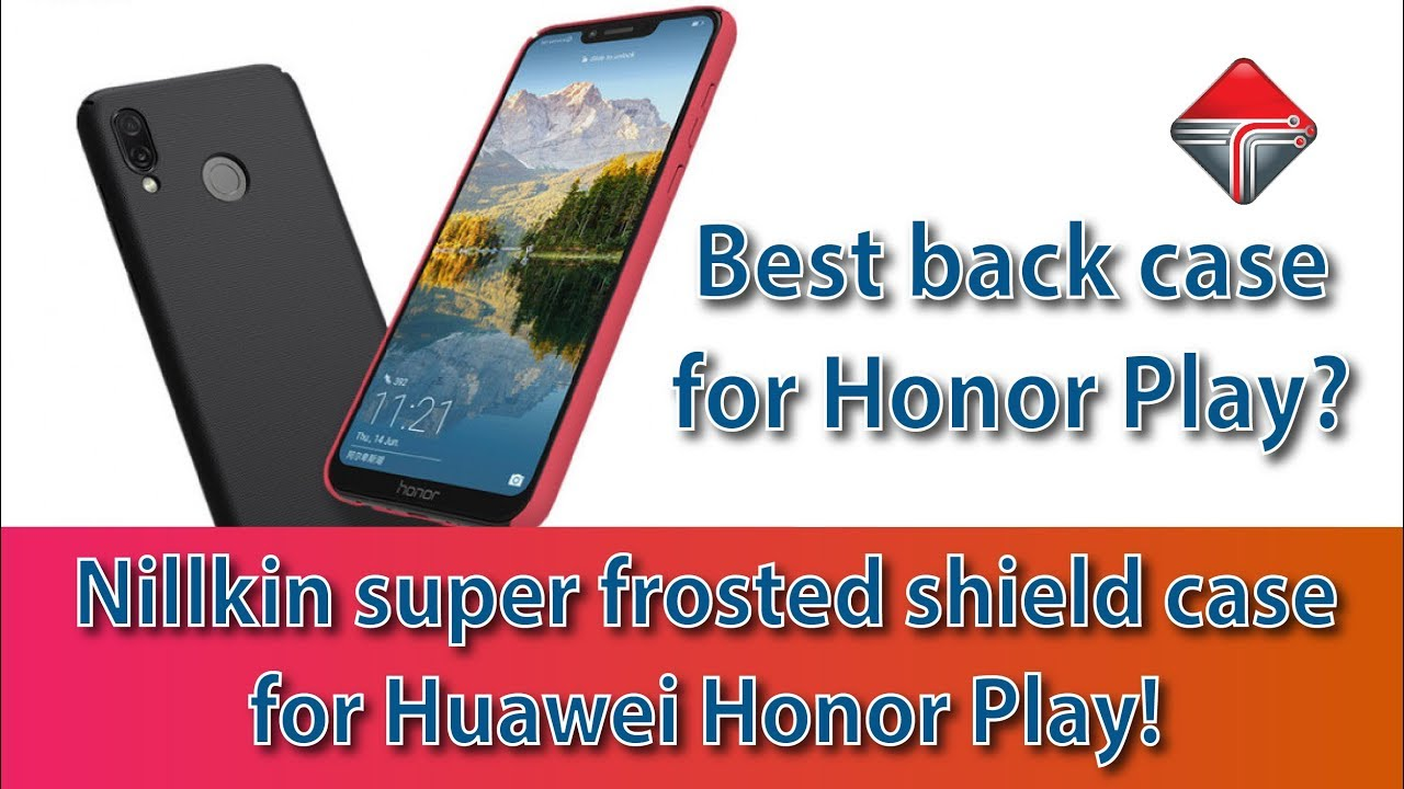 lowest price d91d4 afbe9 Best Back Cover / Nillkin Super Frosted Hard Back Case for Honor Play!