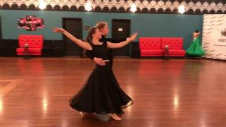 Tango American Smooth, Bronze Demo Routine. Dance instructors:…