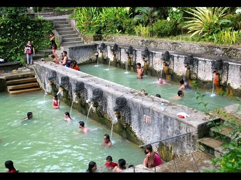 Hot springs in Banjar (North Bali)