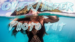 How to shoot PERFECT Over/Under Photos (Underwater photography tutorial) @shangerdanger w/ DALLMYD