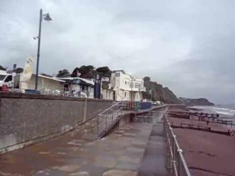 Sea Side south of England...Devon...Teignmouth