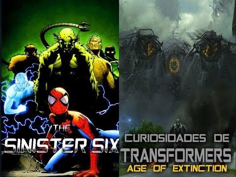 Loquendo - Los Seis Siniestros y Curiosidades De Transformers 4