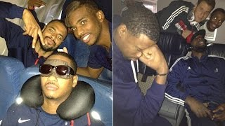 NEW NBA Players on Air Plane FUNNY MOMENTS!