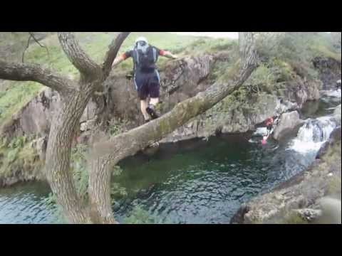River Esk Lake District Canyoning