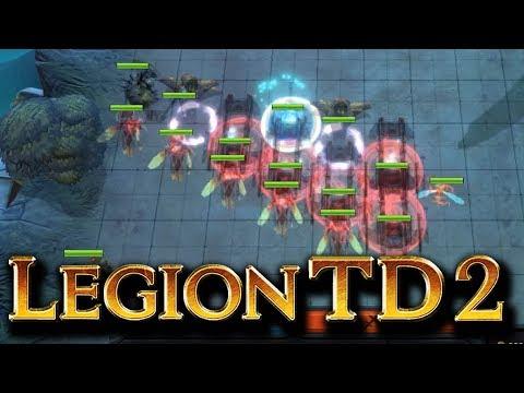 Teamwork! So will ich das sehen! | Legion TD 2 [Deutsch]