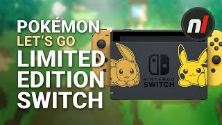 Gallery: Pokémon Let's Go, Pikachu & Eevee Limited Edition Switch Console Bundle