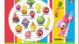 Online Latin games - Click and tell online game - Latin language learning games for kids