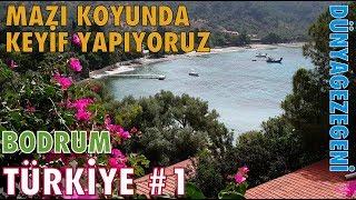 Aşağı Mazı 'da keyifli bir koy dayız. Bodrum Türkiye #1 Dünya gezegeni DG Dünyagezegeni