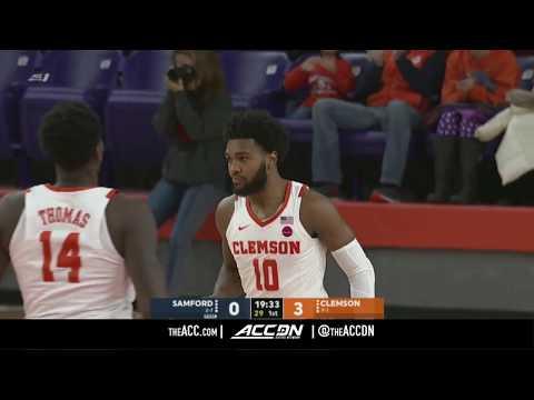 Samford vs Clemson College Basketball Condensed Game 2017