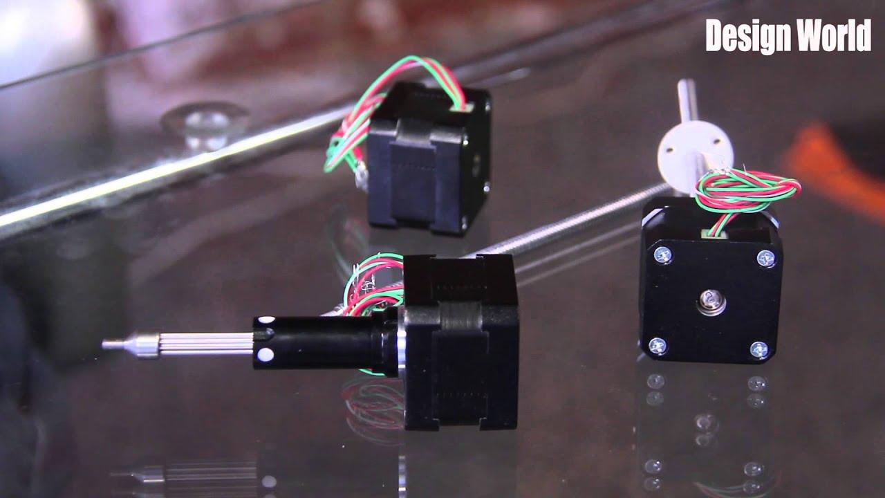 size 17 hybrid stepper linear actuator 43000 series linear actuator haydon kerk [ 1280 x 720 Pixel ]