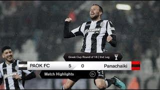 Τα γκολ του ΠΑΟΚ-Παναχαϊκή - PAOK TV