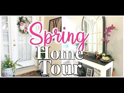🌷SPRING HOME TOUR 2019🌸 | RUSTIC FARMHOUSE | SPRING DECORATING IDEAS