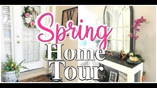 Spring Home Tour 2019 | Rustic Farmhouse | Spring Decorating Ideas