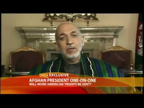 Afghan President on Election Fraud