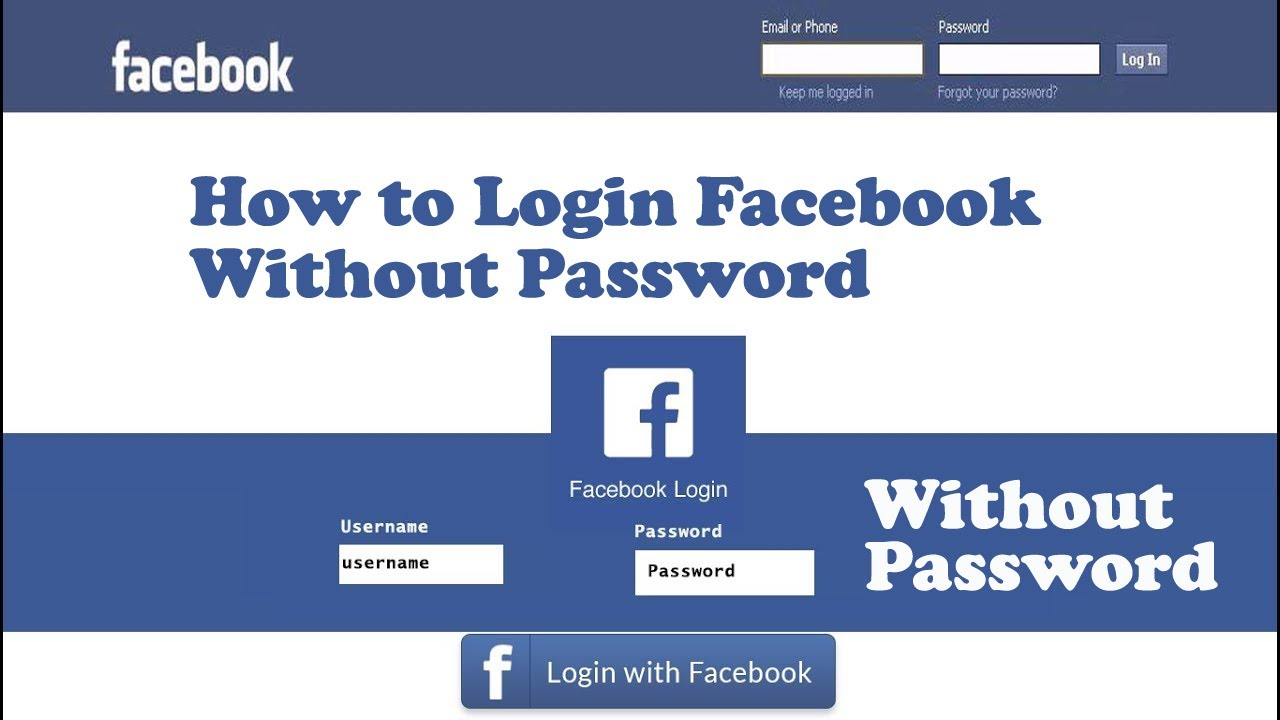 log facebook account