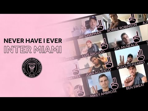 Inter Miami Play Never Have I Ever On Zoom