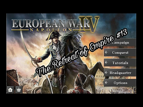 European War 4 Napoleon 13.The Retreat of Empire(Imperial Eagle)