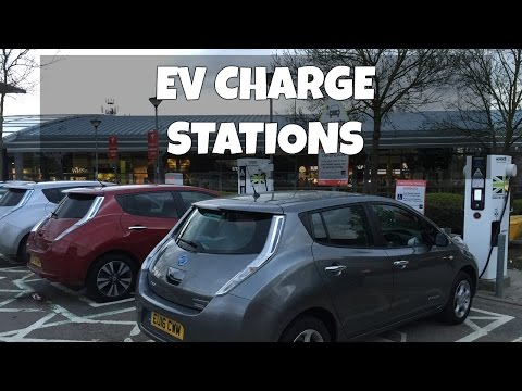 Electric car charging at Ecotricity