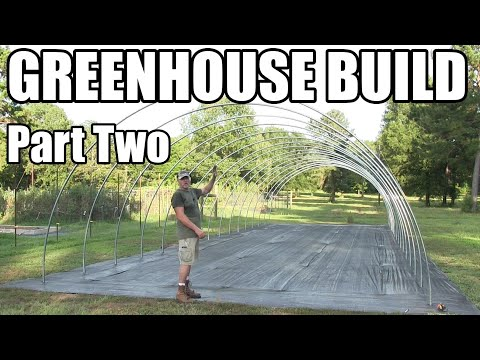 Greenhouse Build Part Two