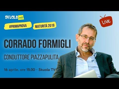 Maturità 2019: il totoesame di Corrado Formigli